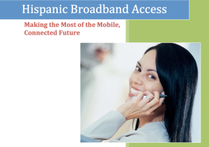 Hispanic Broadband Access Report